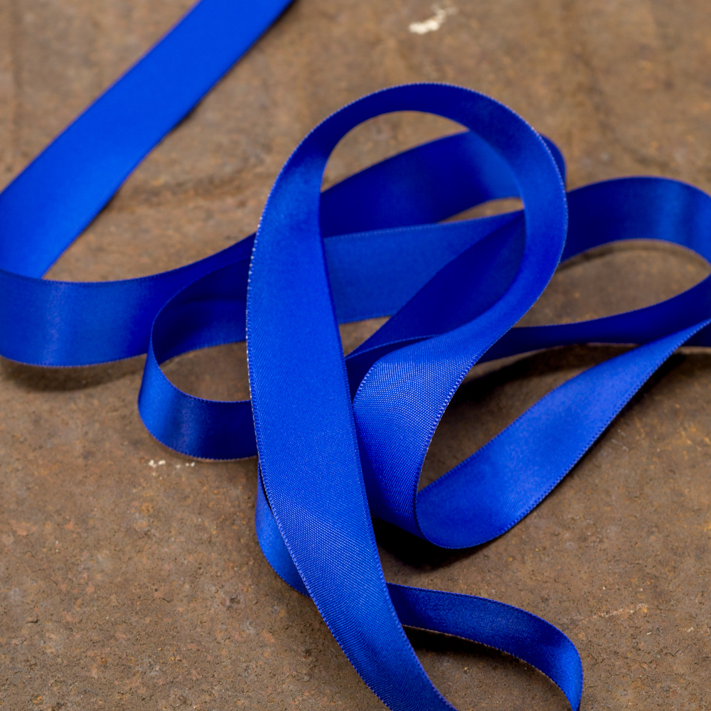 Satin Ribbon-Blue TP200007