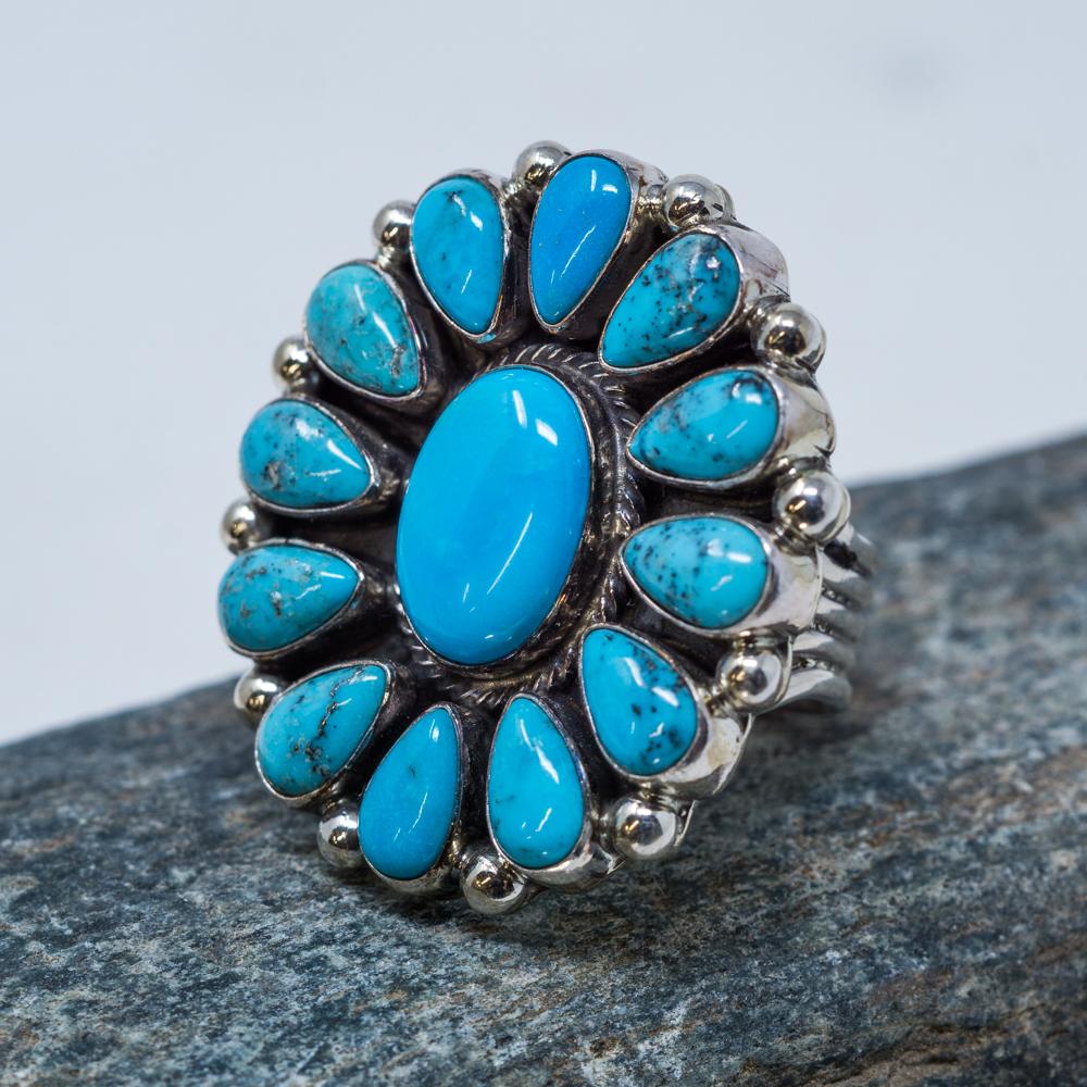 Kingman Turquoise Ring JE200099