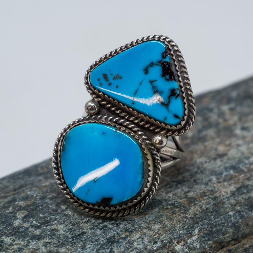 Kingman Turquoise Ring JE200103