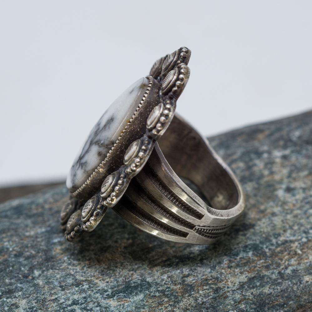 White Buffalo Ring