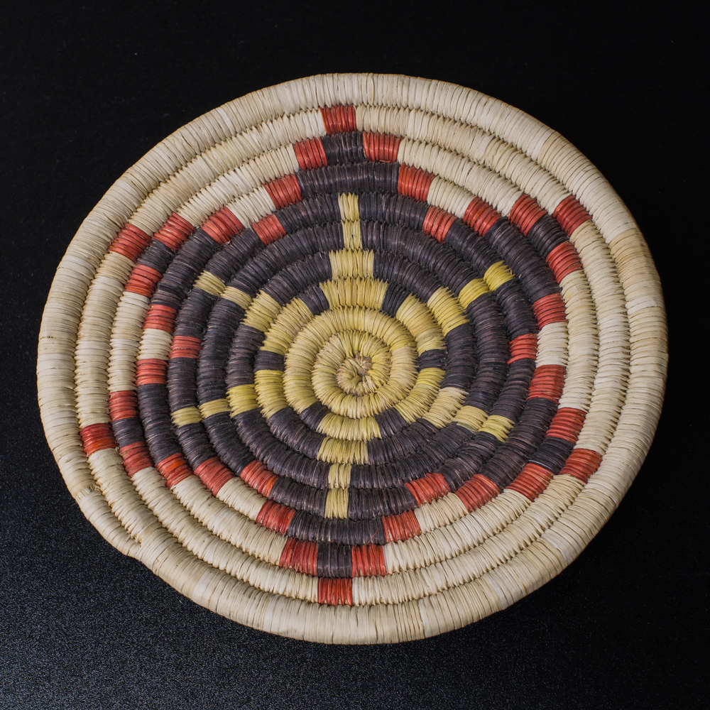 2nd Mesa Hopi Coiled Plaque GA200028
