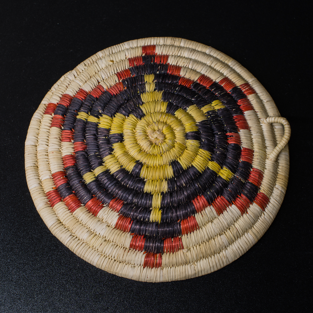 2nd Mesa Hopi Coiled Plaque