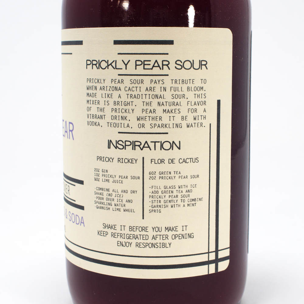 Prickly Pear Sour Cocktail Mix - MADE IN ARIZONA!