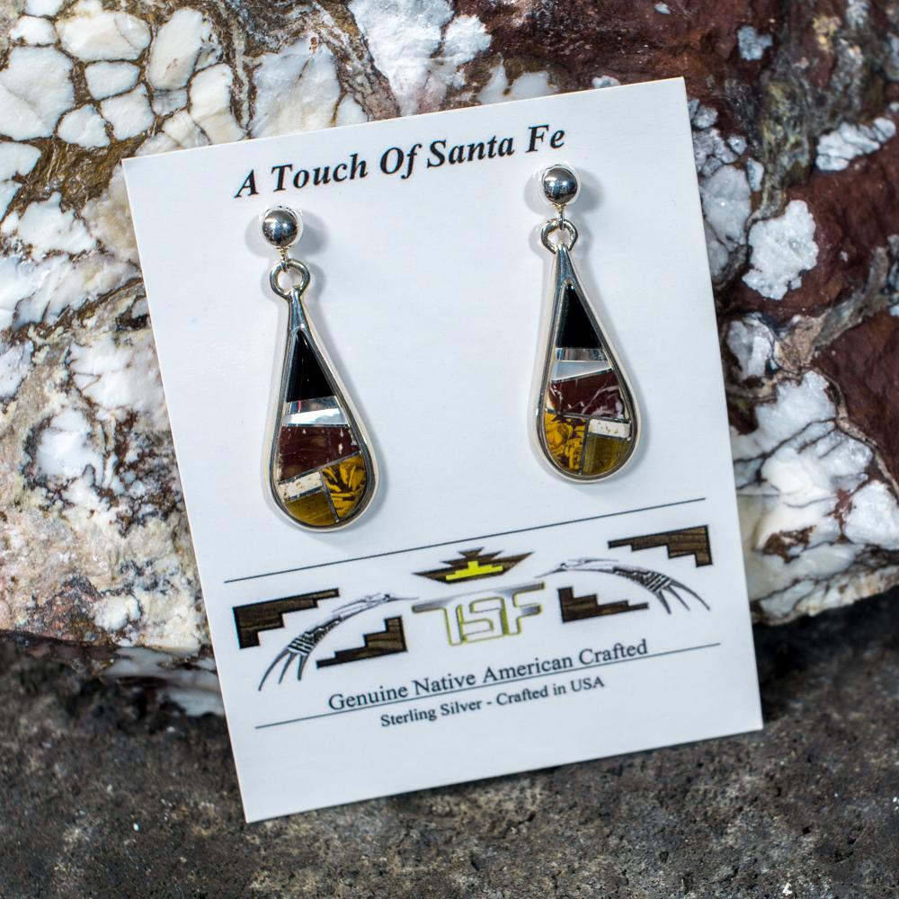 Touch of Santa Fe Multi-Stone Earrings JE200114