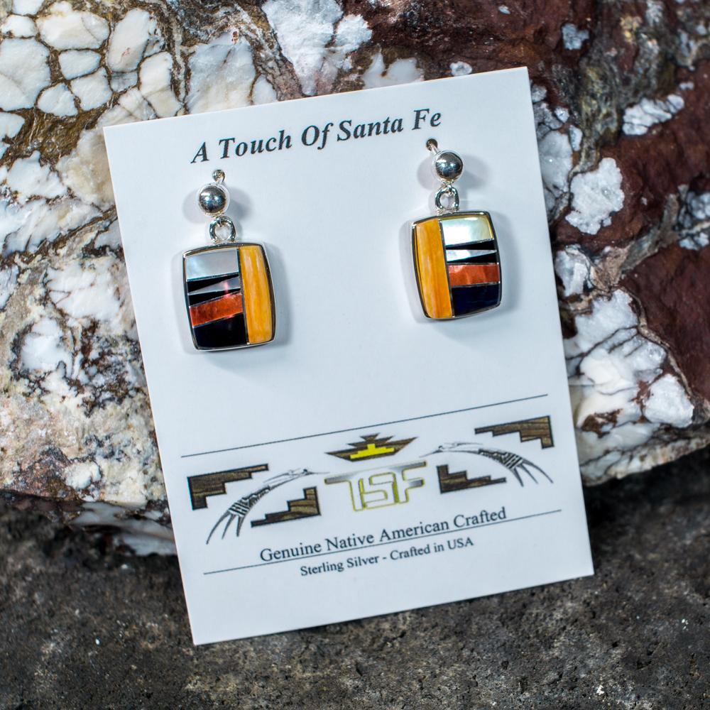 Touch of Santa Fe Multi-Stone Earrings JE200124