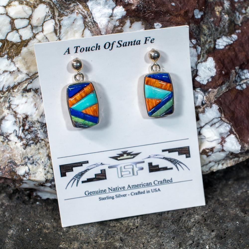 Touch of Santa Fe Multi-Stone Earrings JE200122
