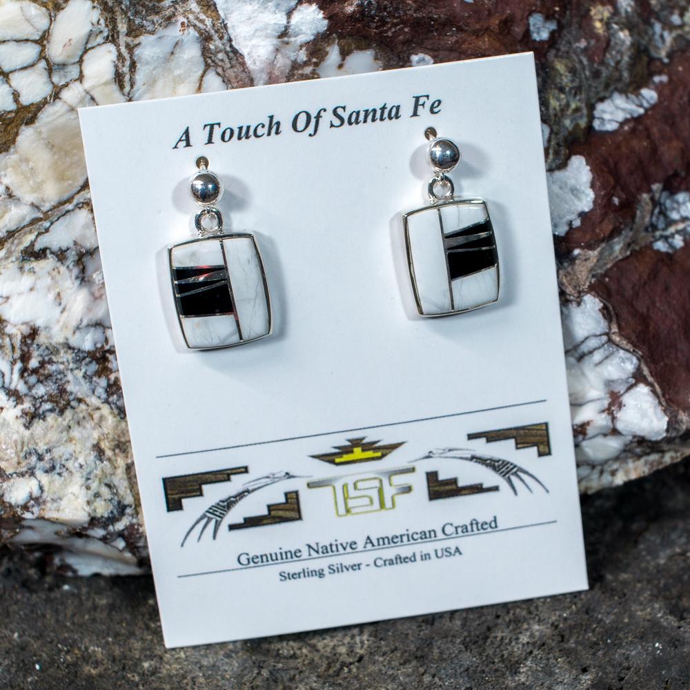 Touch of Santa Fe Multi-Stone Earrings JE200123