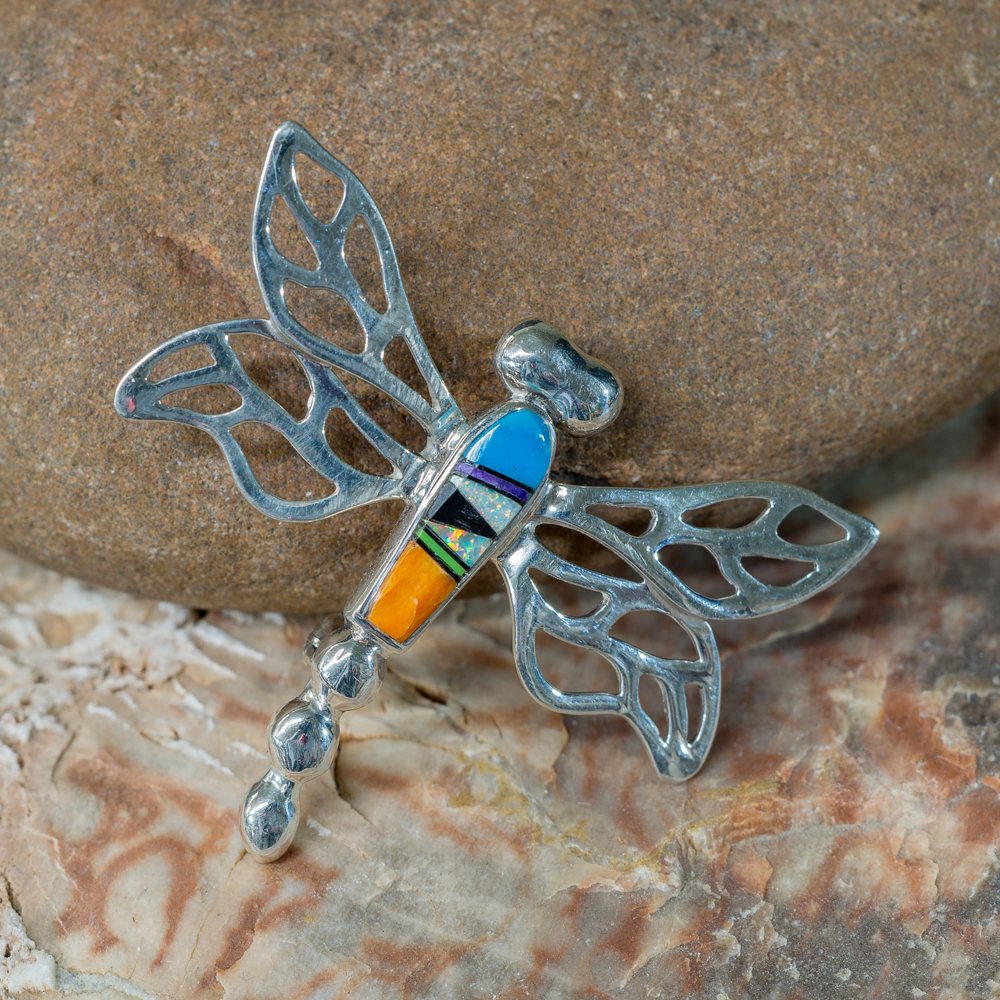 Inlay Dragonfly Pin JE200196