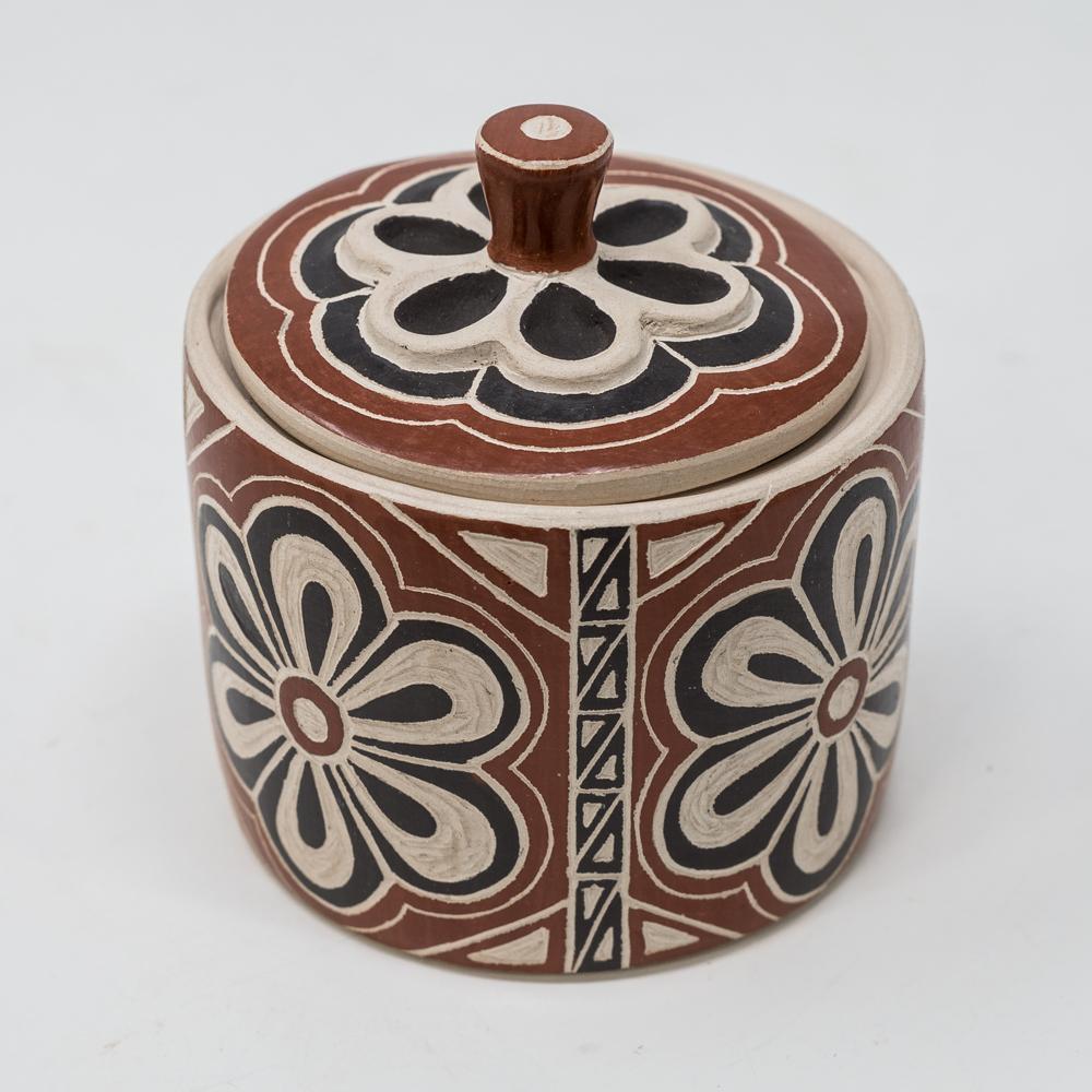 Mata Ortiz Pottery: Black Blossom SO200021