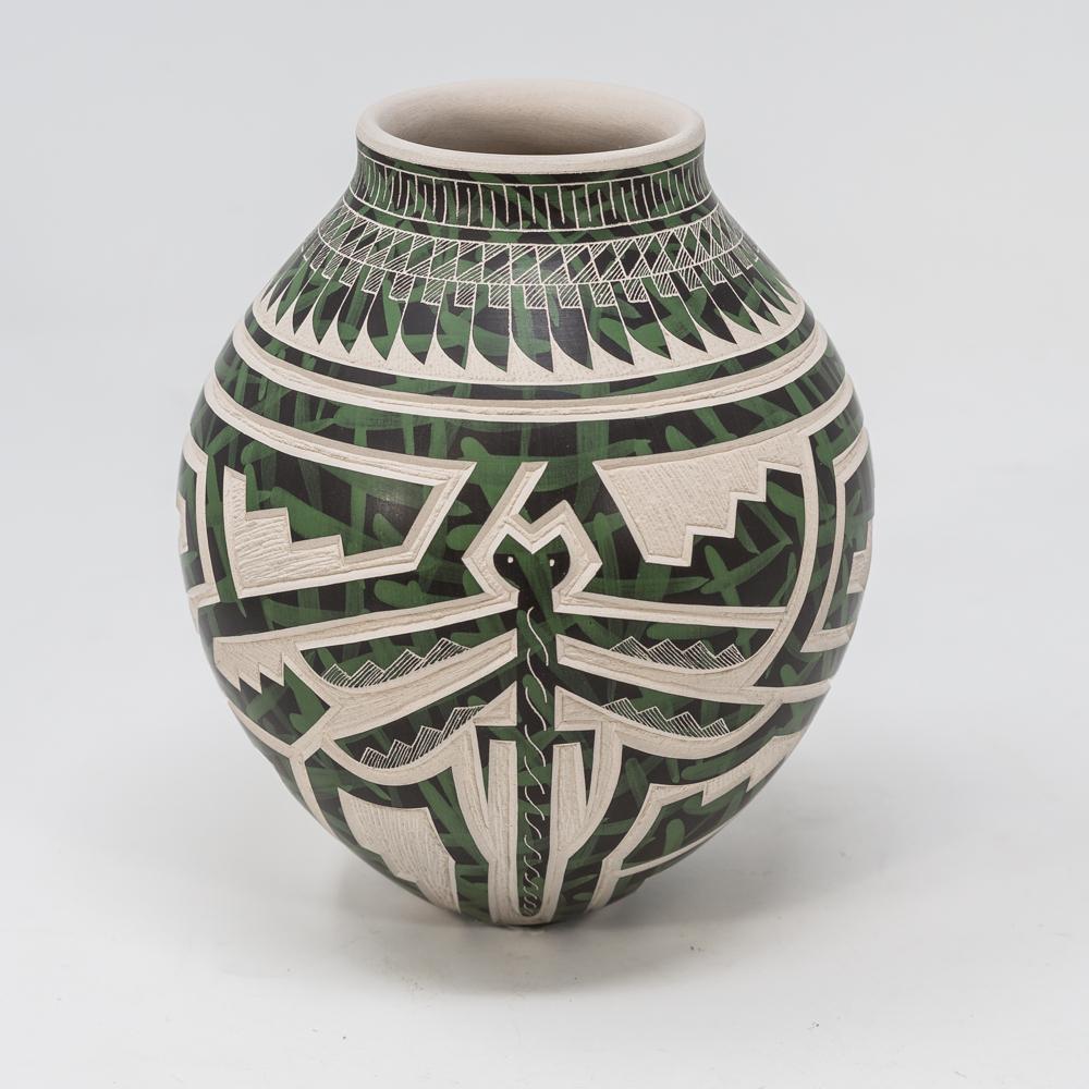 Mata Ortiz Pottery: Snakes SO200025