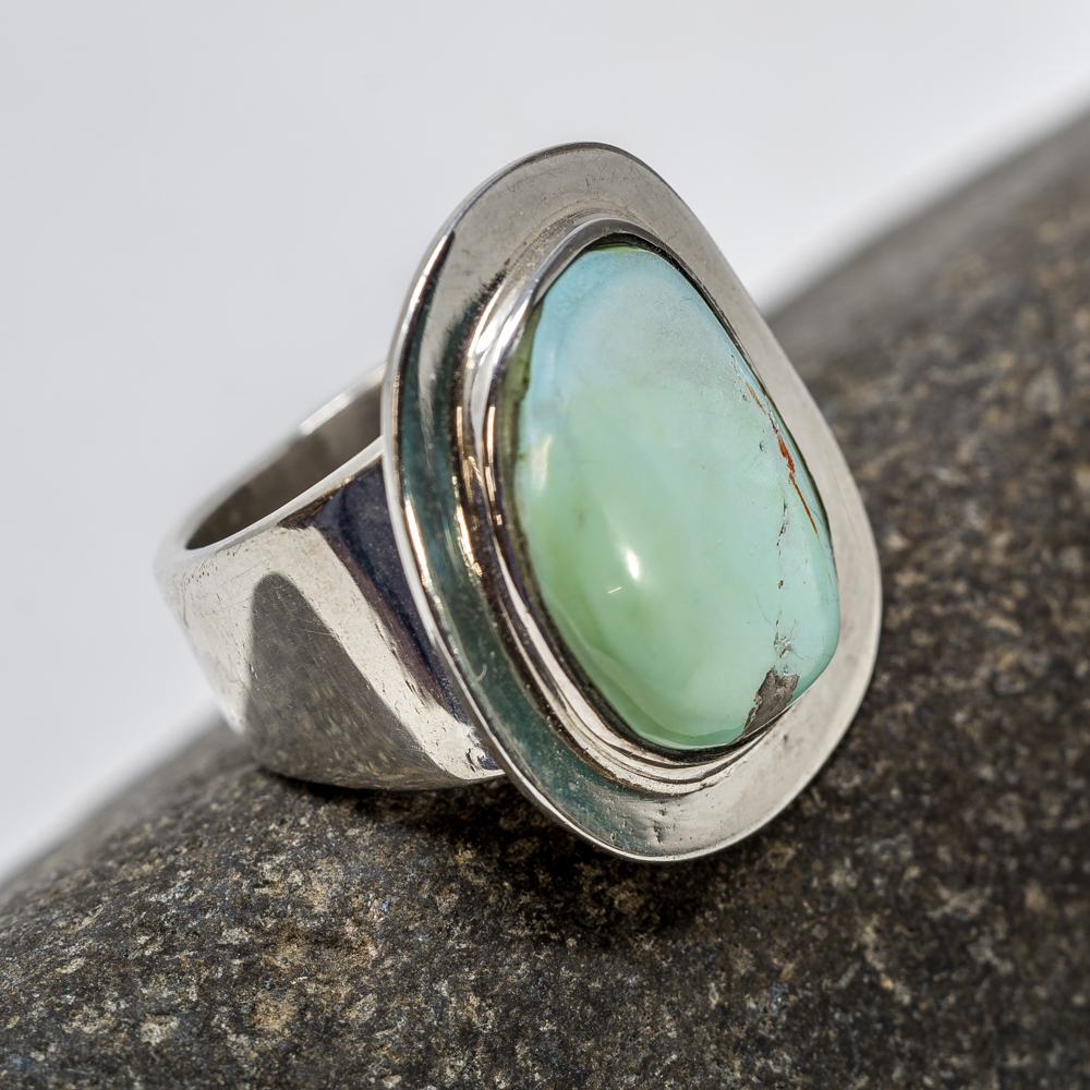 Sleeping Beauty Turquoise Ring by Tommy Jackson SB200068