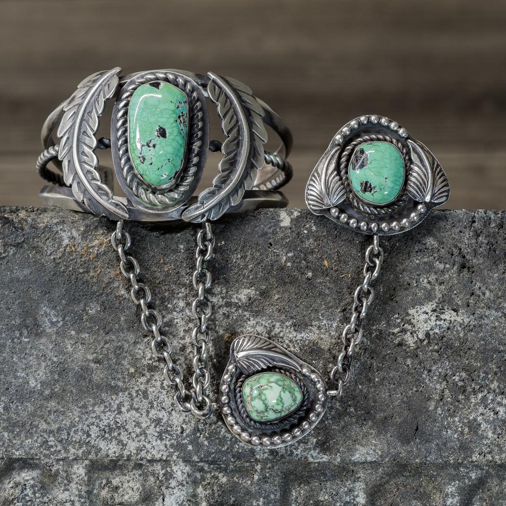 Royston Turquoise Chain Bracelet by Marie Jackson JE200274