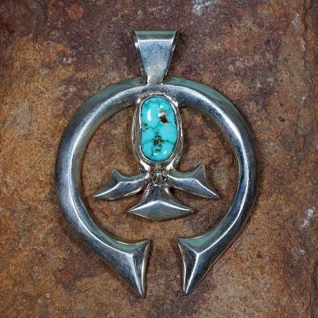 Naja Pendant with Turquoise JE160300
