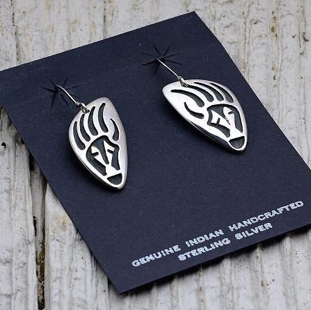 Sterling Silver Earrings by Anderson Koinva JE160271