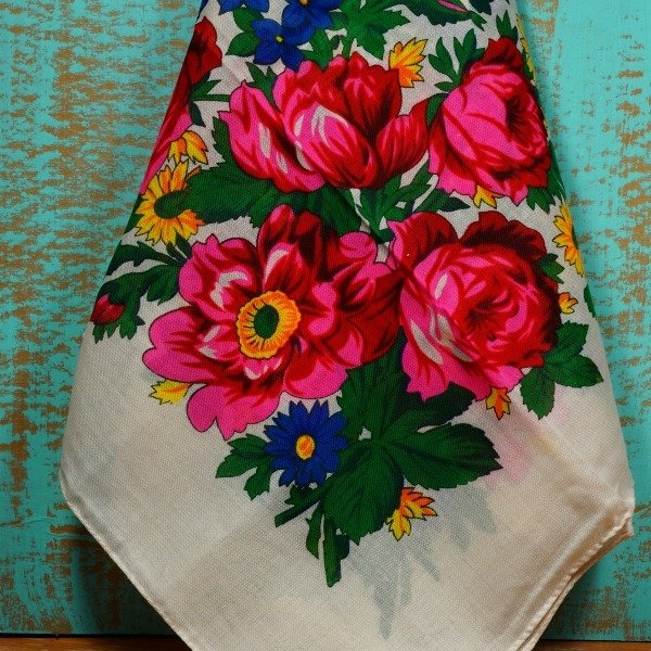 Floral Scarf TP170001