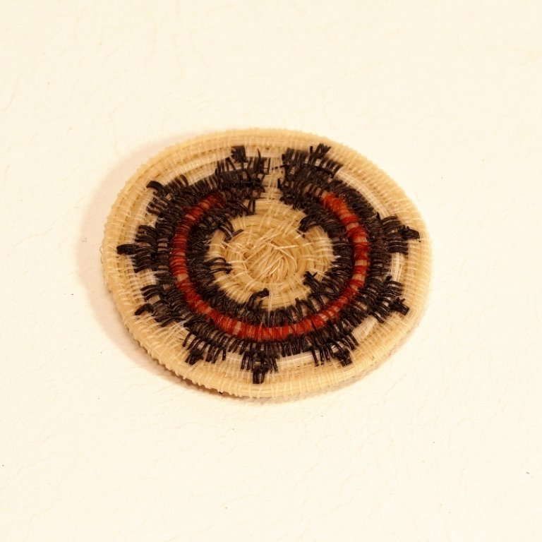 Tohono O'odham (Navajo Wedding Basket Design) Horse Hair GA170116