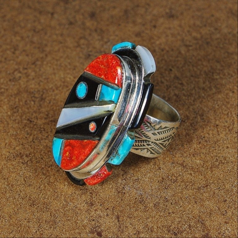 Sylvana Apache Ring-Multistone JE170189