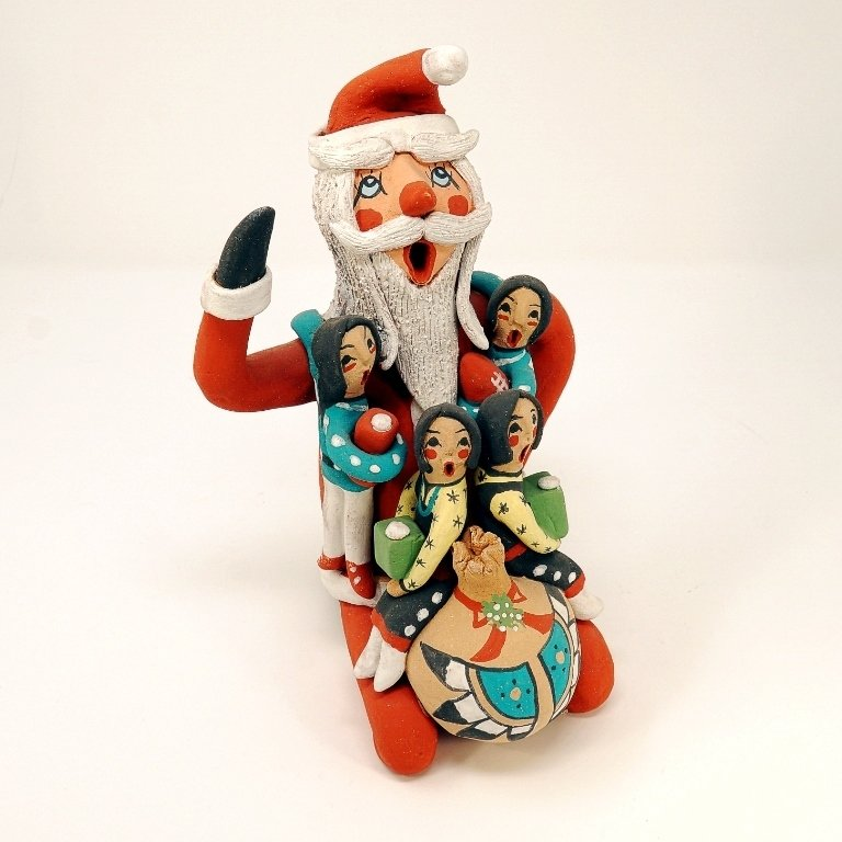 Pottery Storyteller Santa GA170179