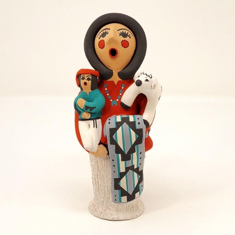 Pottery Storyteller Female GA170180