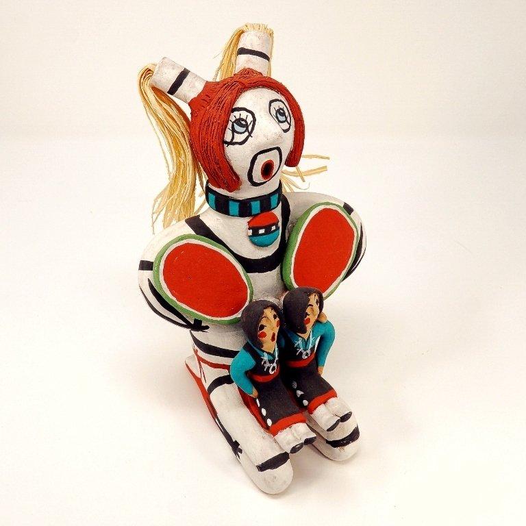 Pottery Storyteller Clown GA170182