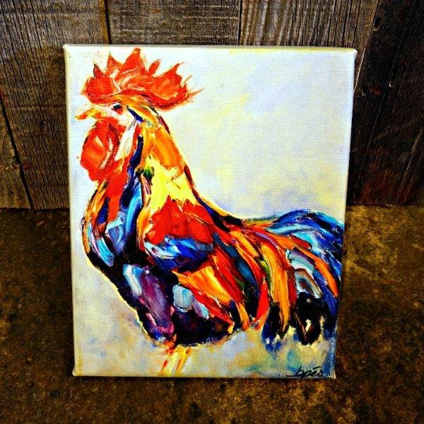 """Brenda Peo Artwork """"Cogburn"""" SG170155"""