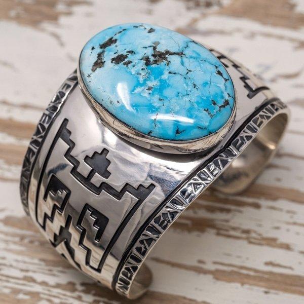 E.M. Teller Morenci Turquoise Bracelet JE180051