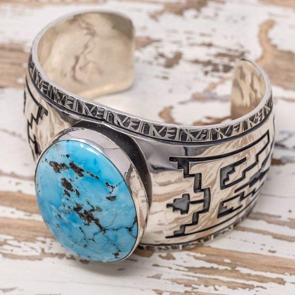 E.M. Teller Morenci Turquoise Bracelet