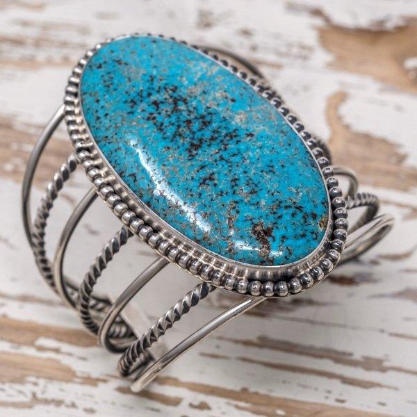 E.M. Teller Kingman Turquoise Bracelet JE180052