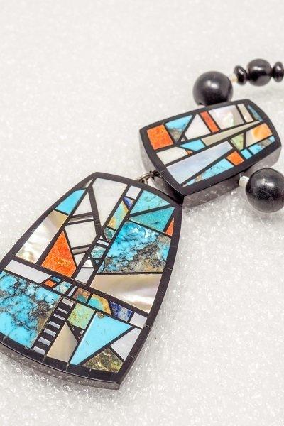 Chris Nieto Mosaic Necklace & Pendant JE180094