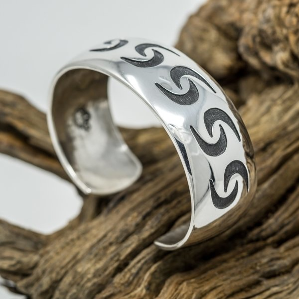 Anderson Koinva Sterling Silver Bracelet - Friendship Design JE180111