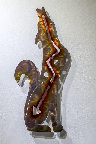 Metal Wall Art - Coyote SG180072