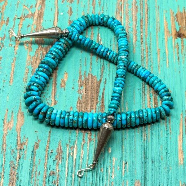 Priscilla Nieto #9 Colorado Turquoise Necklace JE180122