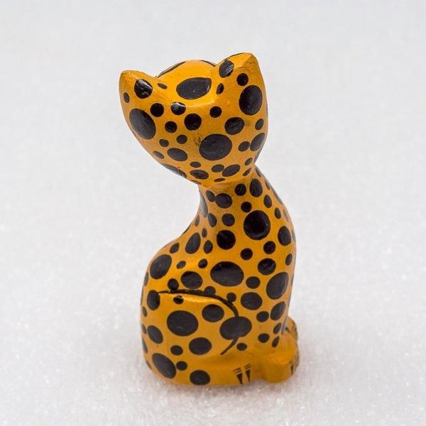 Oaxacan Wood Carving - Leopard