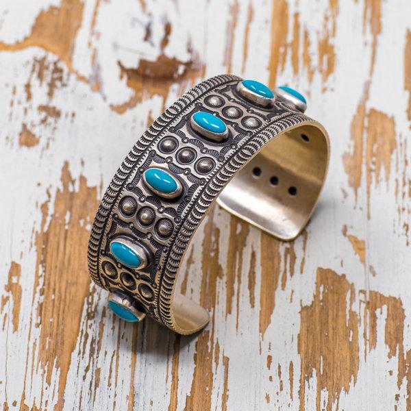 Herman Smith Kingman Turquoise Bracelet JE180141