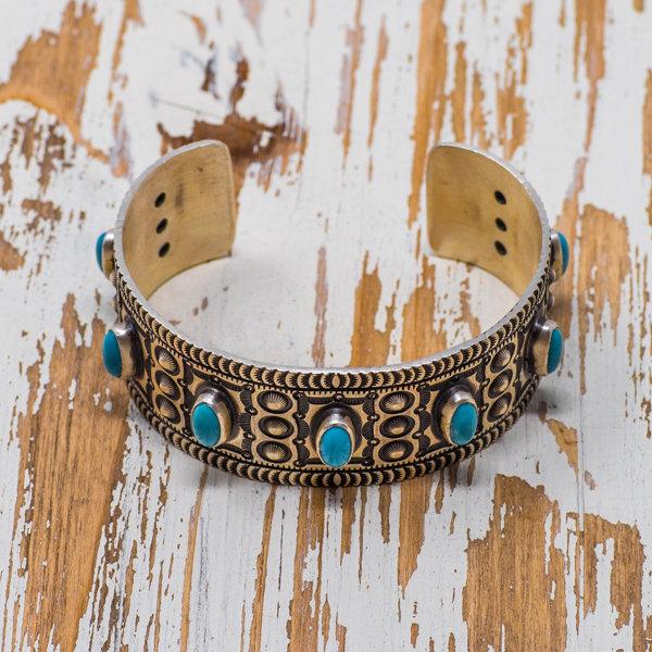 Herman Smith Kingman Turquoise Bracelet