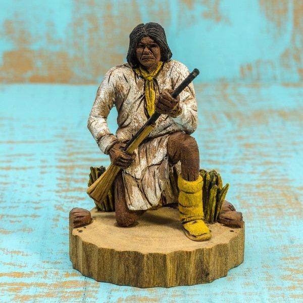 Delbert Upshaw Carving - Geronimo GA180176