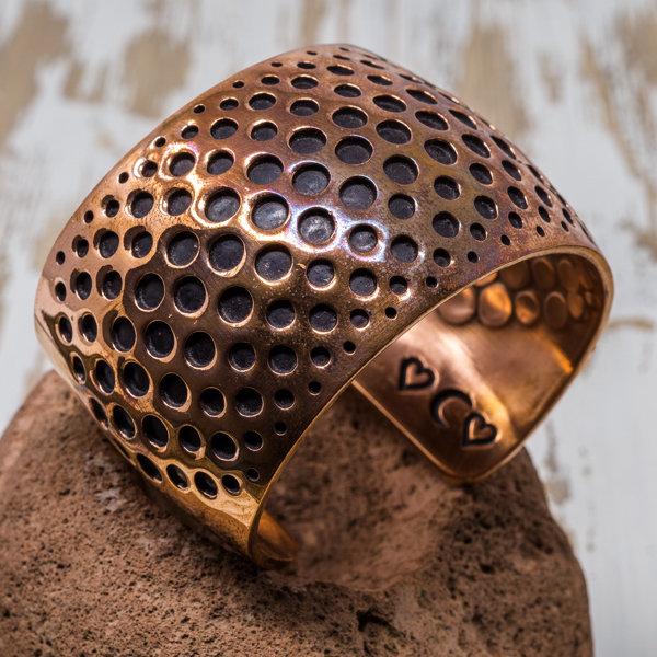 Copper Overlay Bracelet JE180183