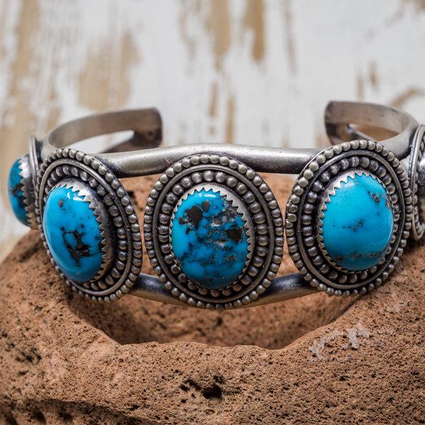 Sleeping Beauty Bracelet - Front View