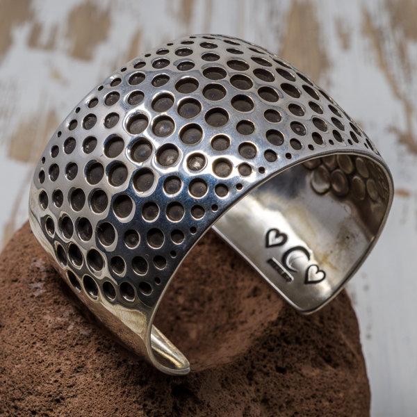 Sterling Silver Overlay Bracelet JE180190