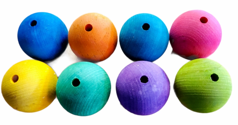 1.5 Inch Wood Ball