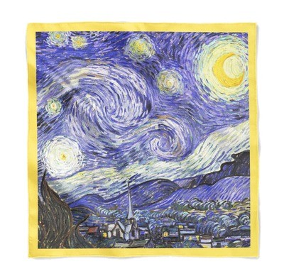 Платок с картиной Ван Гога
