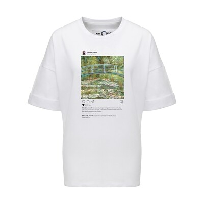 Футболка Insta Monet's Garden