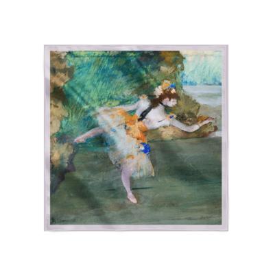Платок с картиной Дега