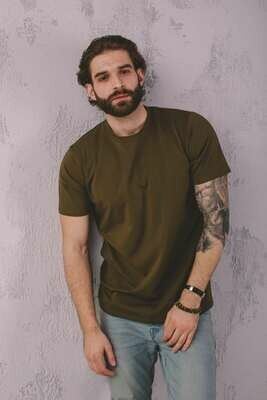 Мужская футболка прямого кроя
