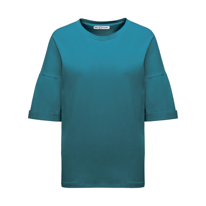 Детская оверсайз-футболка прямого кроя