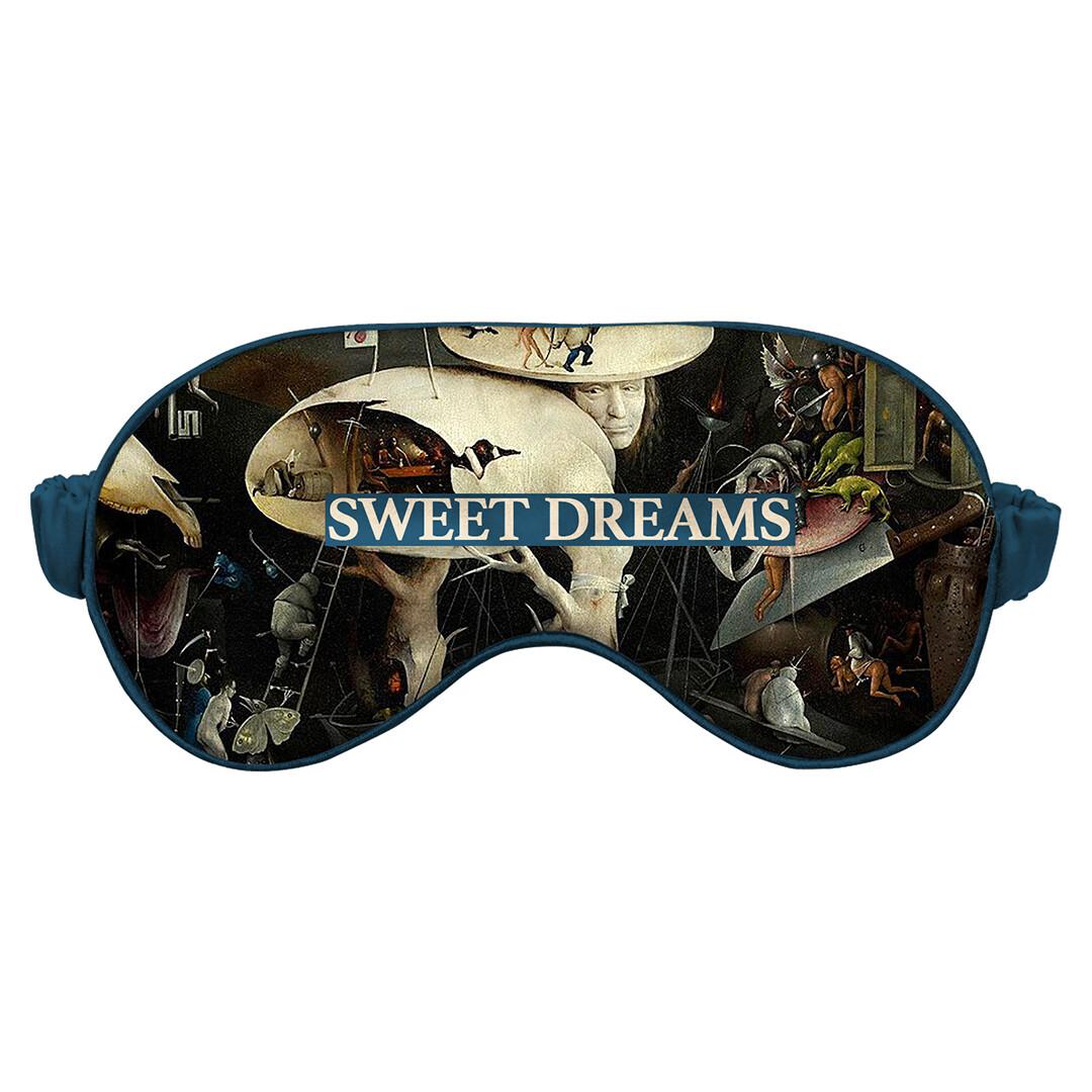 Маска для сна с картиной И. Босха «Сад земных наслаждений» (SWEET DREAMS)