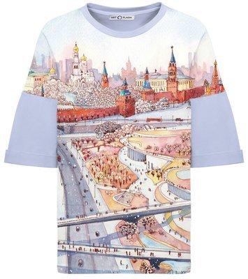 Оверсайз-футболка ZARYADYE PARK (WINTER)