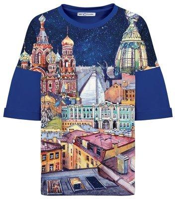 Оверсайз-футболка MY LOVELY SAINT PETERSBURG
