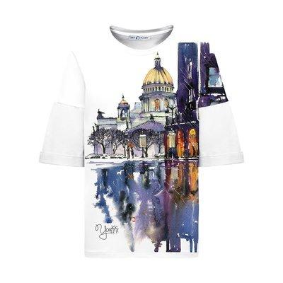 Оверсайз-футболка ST ISAAC'S CATHEDRAL
