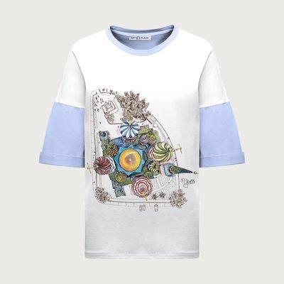 Оверсайз-футболка ST BASIL'S CATHEDRAL (BIRDVIEW)